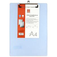 Bìa Trình ký Plastic A4 S9 - Hồng Hà 6617 - Màu Xanh