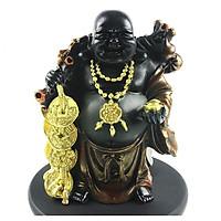 Tượng Phật Di Lặc phát tài phát lộc than hoạt tính trang trí phong thủy sang trọng