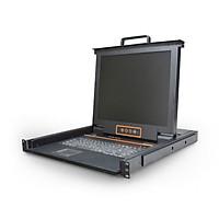 Bộ chuyển đổi Kinan XL1704 LCD KVM 4 port 17 inch - Hàng chính hãng