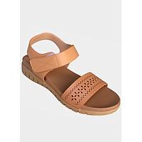 Dép sandal nữ vàng bò đế bệt cao cấp TH_SD046