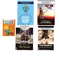 Combo bộ 4 cuốn cha mẹ dạy con thành công( Dạy con theo lối mới+ thế giới bí mật trẻ em+ tìm hiểu con chúng ta+ săn sóc sự học của các con + tặng cuốn bé học IQ chữ cái diệu kỳ)