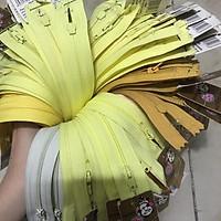 Dây kéo HKK 18cm may quần tây, bóp ví tông vàng