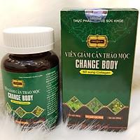 Thực Phẩm Bảo Vệ Sức Khỏe - Viên Giảm Cân Thảo Mộc Change Body - Lọ 25 Viên - Cho Bạn Vóc Dáng Thon Gọn Lý Tưởng