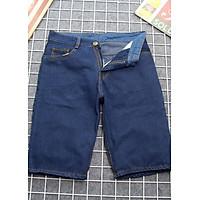 Quần short jeans nam xanh đậm vải dày đẹp Q392 MĐ thời trang