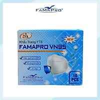 [[ Xuất Khẩu Mỹ ]] - Khẩu Trang Y Tế Cao Cấp FAMAPRO - 4 Lớp Kháng Khuẩn / 95% Lọc Khuẩn, Bụi, Virus Tốt Nhất / Người Lớn - [ CB1 - VN95 - TÚI / HỘP ]