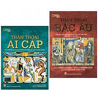 Combo 2 cuốn sách văn học:  Thần Thoại Ai Cập +  Thần Thoại Bắc Âu (Tặng kèm Bookmark Happy Life)