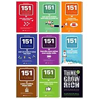 Bộ Sách 151 Ý Tưởng Thành Công Đột Phá Cho Doanh Nghiệp tặng cuốn 5 nguyên tắc vàng nghĩ giàu làm giàu – Đánh thức khao khát làm giàu trong bạn kèm bút bi