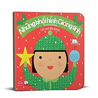 Sách Tương Tác - Lật Mở Lắp Ghép - Christmas Shapes - Những Khối Hình Giáng Sinh