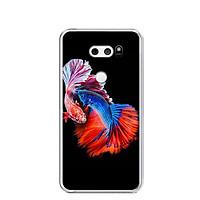 Ốp lưng dẻo cho điện thoại LG V30 - 0222 FISHCOUPLE - Hàng Chính Hãng