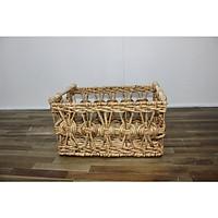 Khay - Sọt lục bình kiểu đan vặn - SD9733K-L/4NA