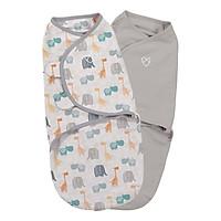 Bộ 2 Chăn Quấn Bohemian  Jungle Uni Summer Infant (Original Swaddle - Bohemian Jungle Uni- Small - 2Pk Bag)