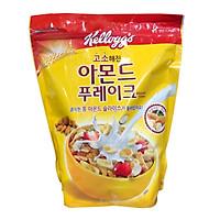 Ngủ Cốc Dinh Dưỡng Hạnh Nhân Dâu Tây Almond Flakes hiệu Kellogg's