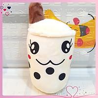 Gấu bông trà sữa SALE siêu cute, chất liệu vải nhung Hàn Quốc size nhỏ – Thú nhồi bông mini nhiều màu dễ thương