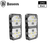Bộ 2 đèn cảnh báo mở cửa tự động dùng cho xe ô tô nhãn hiệu Baseus - Hàng nhập khẩu