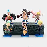 Bộ Mô Hình 6 Nhân Vật One Piece OP01021