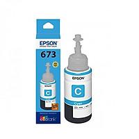 Mực in Epson T673 Cyan Ink Bottle (C13T673200) - Hàng Chính Hãng