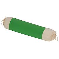 Gối ôm 30x90 cm cotton xốp màu Hometex - Màu xanh két