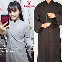 Đồ Lam Đi Chùa # Áo Tràng Phật Tử Vải Đài Loan Cao Cấp# Nam Nữ