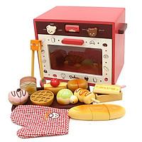 Đồ Chơi Gỗ Skids, Bếp nướng bánh, đồ chơi nhà bêp đáng yêu và đầy sáng tạo