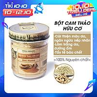 Bột Cam Thảo Nguyên Chất Umi Home (125g) Bột dưỡng trắng da, dùng tắm trắng, loại bỏ mụn nám tàn nhang hiệu quả