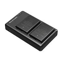 Bộ 2 Pin + 1 Sạc đôi Ravpower EN-EL14 Cho NikoN D3100, D3200, D3300, D3400, D5100, D5200, D5300, D5500, D5600 Coolpix P7000, P7100, P7200, P7700, P7800, P8000 và Nikon DF (Chính Hãng Ravpower)