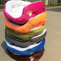 Thảm nhà ổ nệm giường nằm chó mèo thú cưng 60x55x22 cm m3 màu ngẫu nhiên