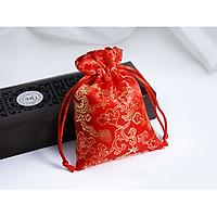 Túi Gấm Thêu Thổ Cẩm Xudapet Hoa văn Rồng Phượng