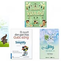 """Combo 3 cuốn sách """"Tâm yên trí nhàn"""": Lagom - Vừa Đủ - Đẳng Cấp Sống Của Người Thụy Điển, Bí Quyết Đơn Giản Hóa Cuộc Sống, Sống Đời Bình An (+ bookmark danh ngôn hình voi)"""