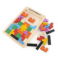 Đồ Chơi Phát Triển Tư Duy Xếp Hình Tetris Sáng Tạo Siêu Hot