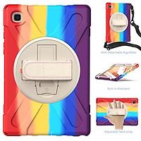 Ốp Lưng Có Giá Đỡ Xoay 360 Độ Cho Samsung Galaxy Tab A7 10.4 2020 Sm-500 Sm-505