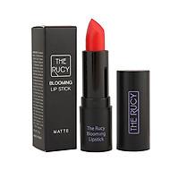 Son Lì Matte Bền Màu The Rucy Blooming Lipstick (3.5g) Tặng Băng đô mặt cười