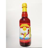Nước mắm Nha Trang Hương Liên 40 đạm chai 500ml - cốt đặc biệt, thơm ngon tự nhiên, sản xuất truyền thống, không chất bảo quản