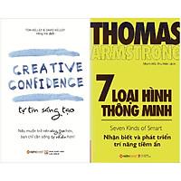 Bộ Sách Hay Về Rèn Luyện Kỹ Năng Sáng Tạo (Gồm 2 cuốn: Tự Tin Sáng Tạo + 7 Loại Hình Thông Minh) Tặng Sổ Tay Giá Trị (Khổ A6 Dày 200 Trang)