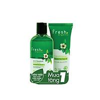 Combo Dầu Gội 250g & Dầu Xả 65g Fresh Tea Tree Oil