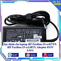Sạc dành cho laptop HP Pavilion 15-cc137TX HP Pavilion 15-cc138TX Adapter 19.5V 3.33A - Hàng Nhập khẩu