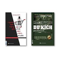 Combo 2 cuốn : Học Marketing du kích+ Người bán hàng giỏi phải bán mình trước ( tặng 1 giá đỡ iring dễ thương)