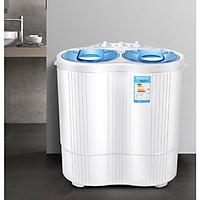 Máy Giặt Mini 2 Lồng 4,5kg có chức năng vắt khô