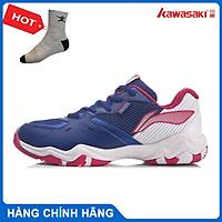 Giày cầu lông Lining AYTR008-2 chính hãng dành cho nữ, đế kếp đàn hồi chống lật cổ chân - Tặng tất thể thao Bendu