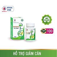 Viên uống Dogarlic Trà Xanh Plus lọ 100 viên - Giảm Cholesterol, hỗ trợ giảm mỡ thừa
