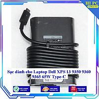 Sạc dành cho Laptop Dell XPS 13 9350 9360 9365 65W Type-C - Hàng Nhập khẩu