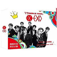 Hộp quà EXO nhiều món đặc biệt tặng vòng tay may mắn
