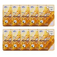 Combo 10 Gói Mặt Nạ Chiết Xuất Sữa Ong Chúa 3W Clinic Fresh Royal Jelly Mask Sheet (23ml x 10)