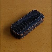 Bao da rút dành cho Nokia 8800 dạng hộp đà điểu có gù màu nâu đất