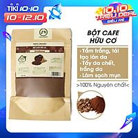 Bột Cafe hữu cơ UMIHOME nguyên chất (35g) bột đắp mặt tắm trắng dưỡng da, loại bỏ mụn, thâm nám tàng nhang, chống lão hoá hiệu quả