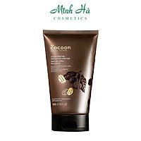 Tẩy da chết mặt Cà Phê Đắk Đắk Cocoon 150ml làm sạch da chết mặt, cho làn da mềm mại rạng rỡ