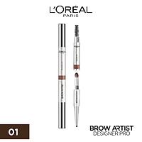 Chì Kẻ Chân Mày Brow Artist Designer Pro - 01 Dark Bown (Socola)