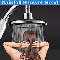 Shower Head High Pressure Bathroom Shower Sprayer Stainless Steel Handheld Rain Shower Water Saving