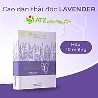 Cao Dán Thải Độc - ATZ Healthy Life - Lavender - Giải Quyết Vấn Đề Mất Ngủ, Giảm Mệt Mỏi