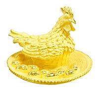 Tài Lộc Khai Hoa phủ vàng 24K quà tặng mỹ nghệ KBP DOJI DJDEML2