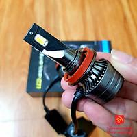 Đèn LED gầm XM70 3 chế độ phá sương cho xe ô tô chân H8/H9/H11/H16-9005/HB3/H10-9006/HB4/H7